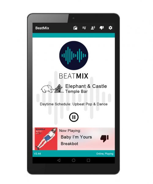 BeatMix Device Screenshot Merged